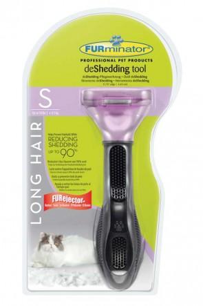Furminator für kleine langhaarige Katzen