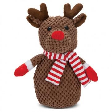 Beeztees Weihnachtsspielzeug Plüsch L: 22 cm Rentier