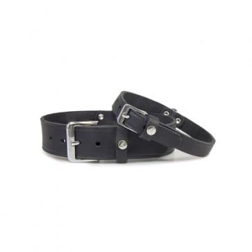 Hundehalsband Weinheim schwarz