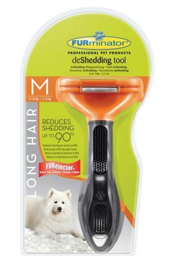 Pflegewerkzeug für langhaarige mittelgroße Hunde