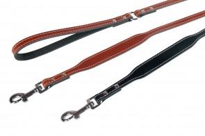 Leine Twist braun 100cm 18mm
