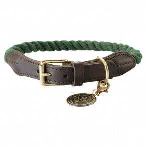 Hunter Halsband List oliv 60cm