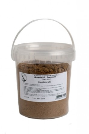 Greenheart Karotten Granulat 500g