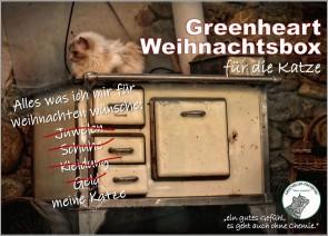 Greenheart Weihnachtsbox für die Katze