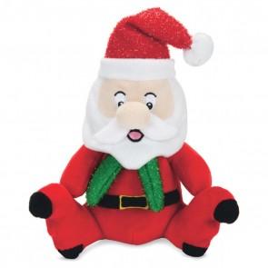 Beeztees Weihnachtsspielzeug Plüsch L: 18 cm Santa Claus