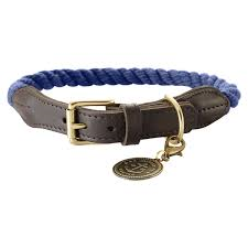 Halsband List Gr. 60 Tau dunkelblau